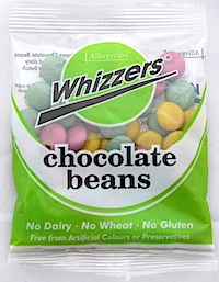 Whizzers Dairy Free Chocolate Beans