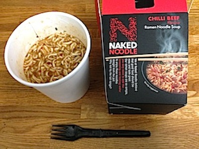 Have quickly noodles and beef naked accept. The