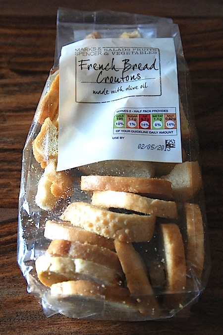 M&S French Bread Croutons – veggies.co.uk