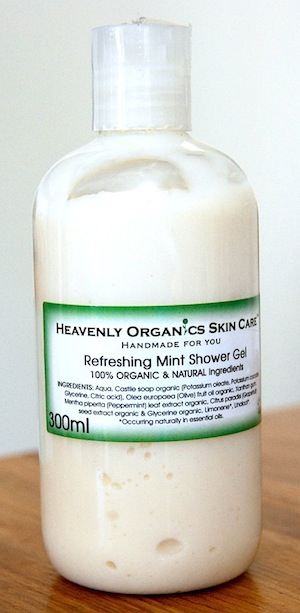 heavenly mint_shower