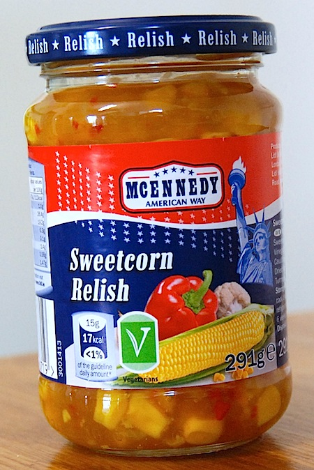 Lidl Mcennedy Sweetcorn Relish Veggies Co Uk