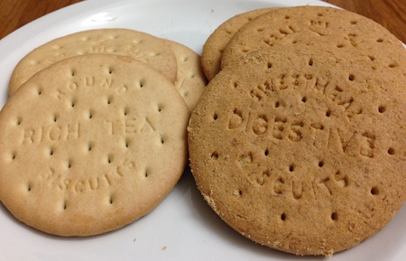 Tesco Everyday Value Digestives And Rich Tea Biscuits Vegan