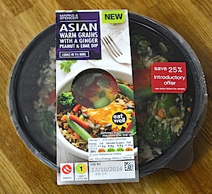 Asian ready meals